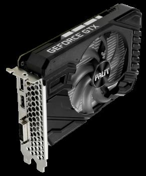 Palit PCI-Ex GeForce GTX 1650 StormX 4GB GDDR6 (128bit) (1410/12000) (DVI-D Dual-Link, HDMI, DisplayPort) (NE61650018G1-166F)