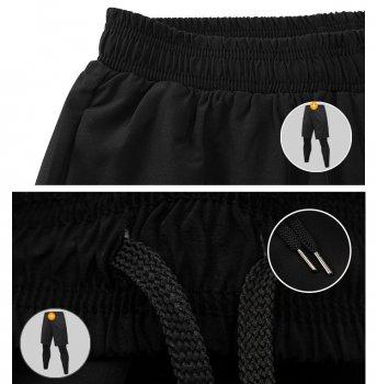 Лосини-тайтси з шортами U-Power (Black)