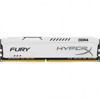 Модуль памьяті для компьютера DDR4 8GB 2933 MHz HyperX FURY White Kingston (HX429C17FW2/8)