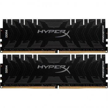 Модуль памьяті для комп'ютера DDR4 32GB (2x16GB) 3333 MHz Kingston HyperX Predator (HX433C16PB3K2/32)
