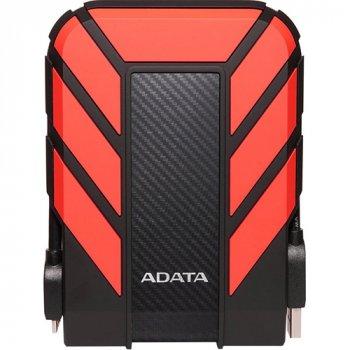 Зовнішній жорсткий диск A-Data USB 2TB HD710 Pro Durable Red (AHD710P-2TU31-CRD)