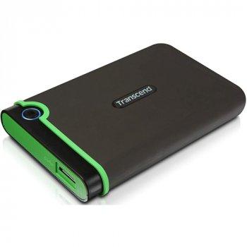 Зовнішній жорсткий диск Transcend StoreJet 2TB USB MC Iron Gray (TS2TSJ25MC)