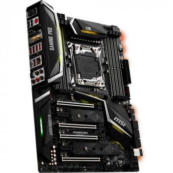 Материнська плата MSI X299 GAMING PRO CARBON AC s2066 X299 8DDR4 M. 2 USB3.1 Wi-Fi, BT