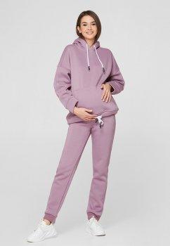 Спортивні штани для вагітних Lullababe Buffalo Бузковий