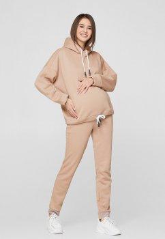 Спортивні штани для вагітних Lullababe Buffalo Бежевий