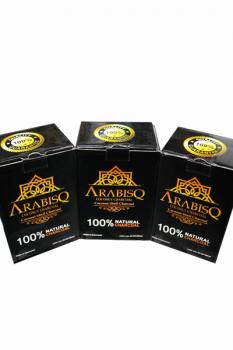 Кокосове вугілля ARABISQ box 1kg