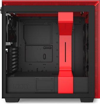 Корпус NZXT H710i Matte Black/Red (CA-H710i-BR)