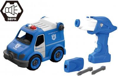 Поліцейська вантажівка Hulna на радіокеруванні 21 деталь конструктор (LM8022-YZ-1)
