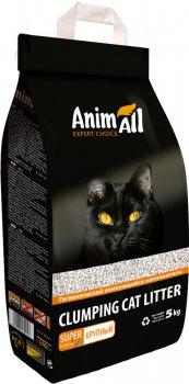 Наполнитель для кошачьего туалета AnimAll крупная фракция Бентонитовый комкующий 5 кг (6 л) (2000981139056)