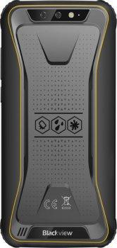 Мобільний телефон Blackview BV5500 Pro 3/16GB Black-Yellow (Українська версія)