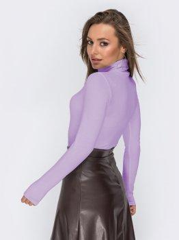 Водолазка Dressa 44723 Фиолетовая