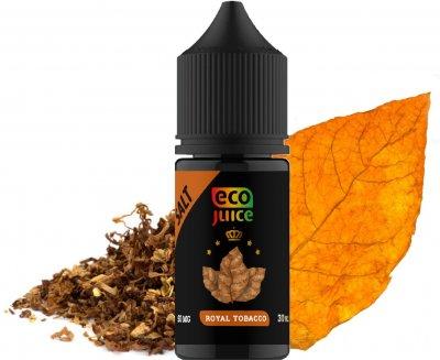 Рідина для електронних сигарет Eco Juice Salt Royal Tobacco 30 мл (Тютюн) (EJS-RT-30)