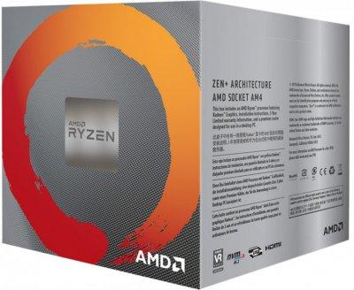 Процессор AMD Ryzen 5 3400G (YD3400C5FHBOX) (F00188145)