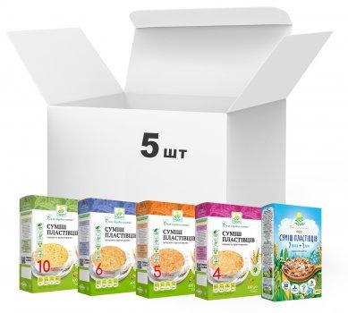 Упаковка хлопьев Терра Multi Flakes Mix 600 г х 5 шт (4820015736963)