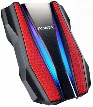 "Жорсткий диск ADATA HD770G 2TB AHD770G-2TU32G1-CRD 2.5"" USB 3.2 Gen1 External Red"