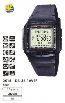 Чоловічі класичні годинник Casio DB-36-1A