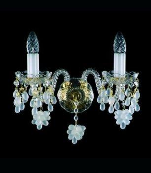 Кришталеве Бра Artglass ANGELA II. WHITE A256201