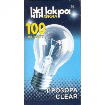Лампа розжарювання Іскра 100 Вт Е27 індивідуальна упаковка