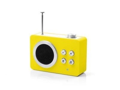 Радиоприемник Яркие впечатления (AM/FM - MP3), желтый - wos2038 LEXON