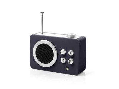 Радиоприемник Яркие впечатления (AM/FM - MP3), темно-серый - wos2039 LEXON