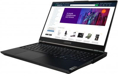 Ноутбук Lenovo Legion 5 15ARH05 (82B500KURA) Phantom Black