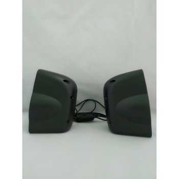 Комп'ютерні колонки акустика 2.0 USB FnT FT-185 Чорні (45833)