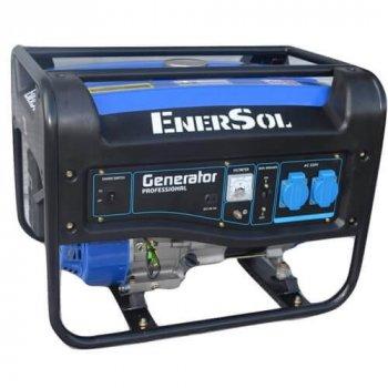 Бензиновый однофазный генератор мощностью 3 кВА EnerSol
