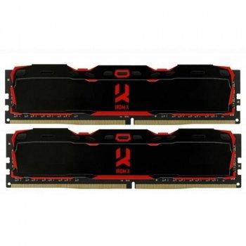 Оперативна пам'ять GOODRAM 8 GB DDR4 2800 MHz Iridium X Black (57257642)