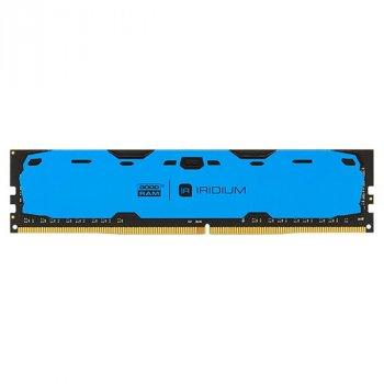 Оперативна пам'ять GOODRAM 4 GB DDR4 2400 MHz Iridium Blue (2176187)