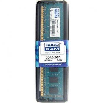 Оперативна пам'ять GOODRAM 2 GB DDR3 1600 MHz (7813795)