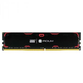 Оперативна пам'ять GOODRAM 8 GB DDR4 2133 MHz Iridium Black (45755585)