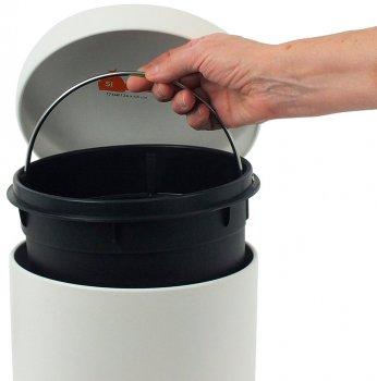 Відро для сміття KELA Cornell 12 л (10929) біле