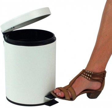 Відро для сміття KELA Rika 5 л (20878) біле