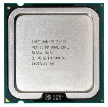 Процесор Intel Pentium Dual-Core E2220 2.40 GHz/1M/800 (SLA8W) s775, tray
