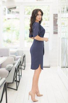 Платье ELFBERG 411 Темно-синее