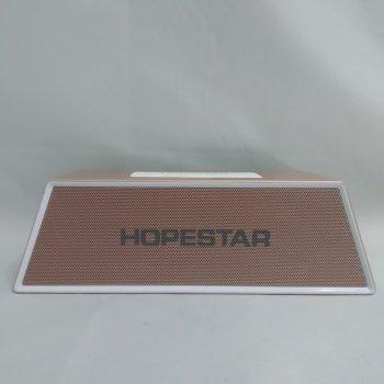 Портативная bluetooth колонка спикер Hopestar H28 Светло-коричневый 46698