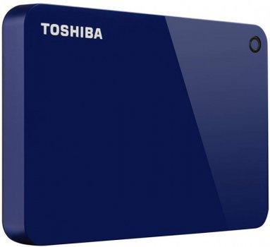 "Жорсткий диск Toshiba Canvio Advance 2TB HDTC920EL3AA 2.5"" USB 3.0 External Blue"