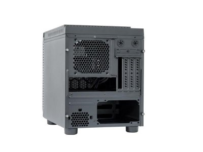 Корпус Chieftec Gaming Cube CI-01B-OP, Без БЖ, 2xUSB3.0, Black