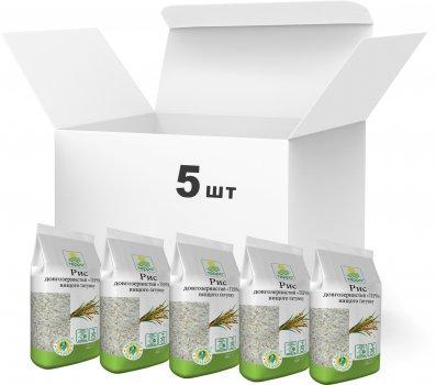 Упаковка риса длиннозернистого Терра высшего сорта 900 г х 5 шт (4820015737137)