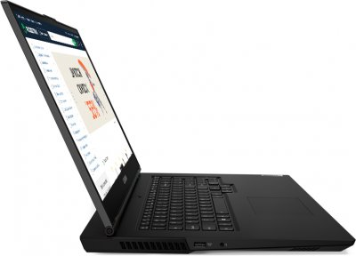 Ноутбук Lenovo Legion 5 17IMH05 (82B3006LRA) Phantom Black