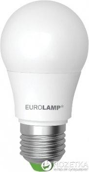 Світлодіодна лампа EUROLAMP LED А50 7 Вт 4000 K E27 4 шт.