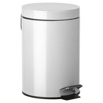 Відро для сміття SENSEA HAPPY 3 л металеве біле 10850805