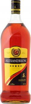 Крепкий алкогольный напиток Alexandrion 5* 1.75 л 37.5% (5942122003109)