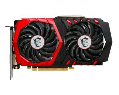 Видеокарта GeForce GTX1050Ti OC MSI GAMING 4Gb DDR5 128bit DVI/HDMI/DP 1430/7008 MHz 6pin GTX 1050Ti GAMING 4G