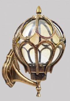 Фонарь настенный (35х20х25 см.) Золото состаренное YR-714-b/m-p
