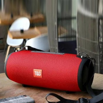 Портативна колонка Bluetooth T&G TG-125 червона