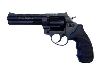"""Револьвер флобера STALKER 4 мм 4,5"""" черный (стальной барабан / пластик)"""