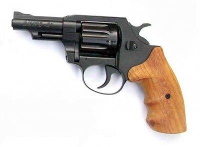 Револьвер под патрон флобера SNIPE-3 (орех)