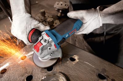 Угловая шлифмашина Bosch Professional с X-LOCK GWX 17-125 S Professional (06017C4002)