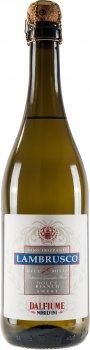 Вино ігристе Dalfiume LAMBRUSCO DELL'EMILIA IGP біле солодке 0.75 л 9% (8008501000392)